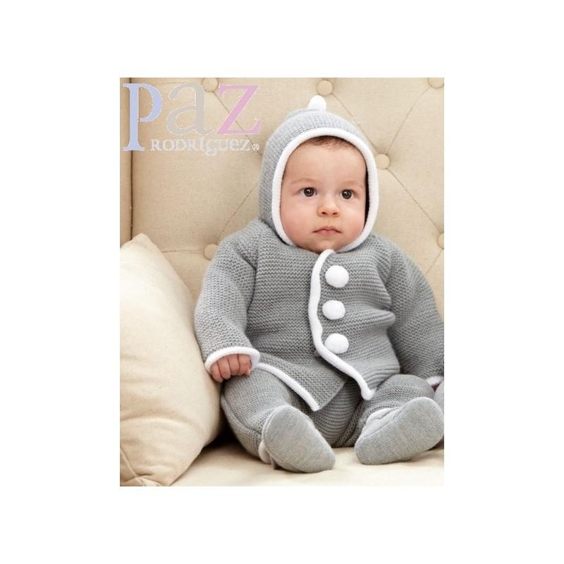 21467a5ca chaqueton punto bebe-ropa de bebe-moda infantil bebe-Nico y Nicoletta