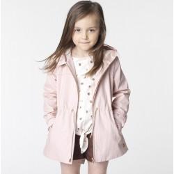 Parka niña rosa palo de Carrement Beau