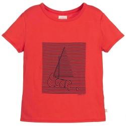 Camiseta roja niño de Carrement Beau