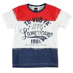 Camiseta tres colores niño de IDO
