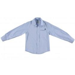 Camisa Oxford azul niño de IDO