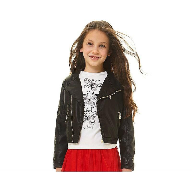 diseño profesional varios colores comprar online Cazadora negra niña de IDO