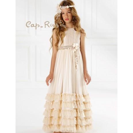 Vestido comunion niña Abby de Cap-Ras