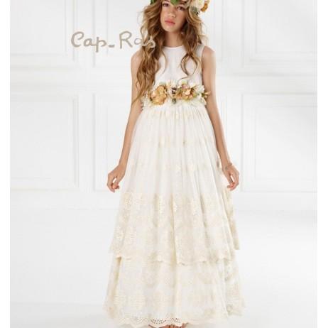 Vestido comunion niña Boheme de Cap-Ras
