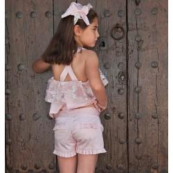 Conjunto niña rosa de Naxos