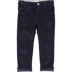 Pantalón Pana Azul Carrement Beau