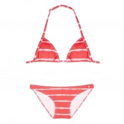 Bikini rayas naranja niña de Condor