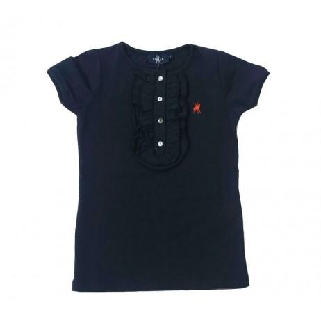 Camiseta niña marino Delhi de La Jaca