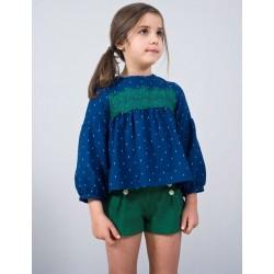 Short verde niña de Sinfonietta