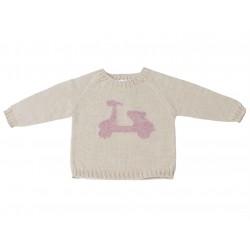 Jersey tostado niño de Fina Ejerique