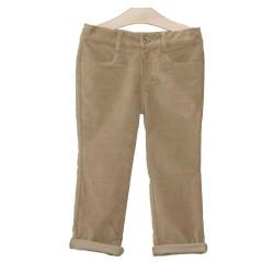 Pantalon tostado niño de Fina Ejerique