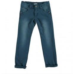 Pantalon niño azul cobalto de IDO