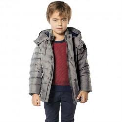Anorak gris niño de Carrement Beau