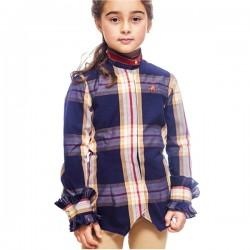 Camisa cuadros niña Rafaella de La Jaca