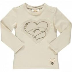 Camiseta beige niña de Le Chic