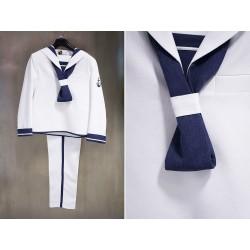 Traje marinero blanco niño de Tapizz & Co