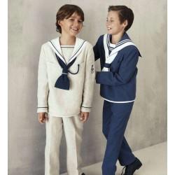 Traje marinero azul niño de Tapizz & Co