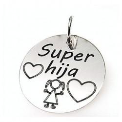 "Colgante ""Super Hija"""