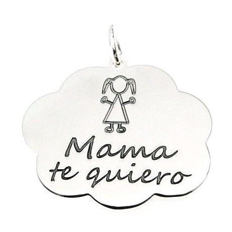 """Colgante nube """"mama te quiero"""""""