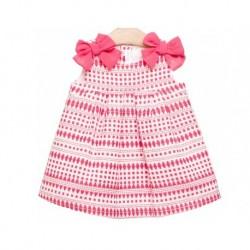 Vestido fresa bebe niña de Fina Ejerique
