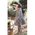 Vestido cuadros bebe niña de Fina Ejerique